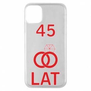 Etui na iPhone 11 Pro Ślub 45 lat