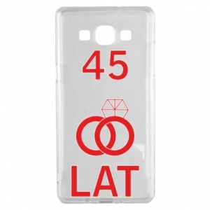 Etui na Samsung A5 2015 Ślub 45 lat