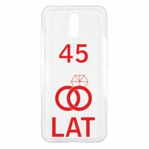 Etui na Nokia 2.3 Ślub 45 lat