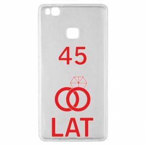Etui na Huawei P9 Lite Ślub 45 lat