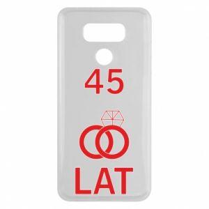 Etui na LG G6 Ślub 45 lat