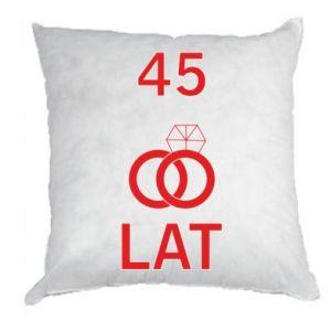 Pillow Wedding 45 years - PrintSalon