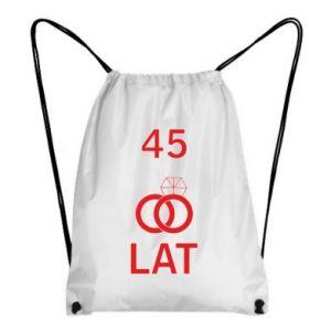 Backpack-bag Wedding 45 years - PrintSalon
