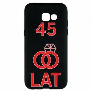 Phone case for Samsung A5 2017 Wedding 45 years - PrintSalon