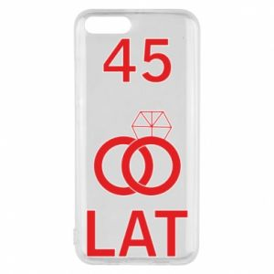 Phone case for Xiaomi Mi6 Wedding 45 years - PrintSalon