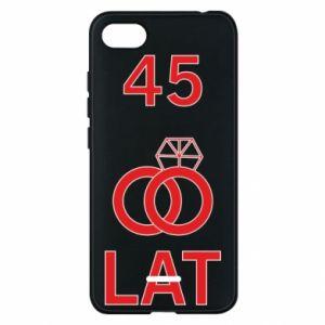 Phone case for Xiaomi Redmi 6A Wedding 45 years - PrintSalon