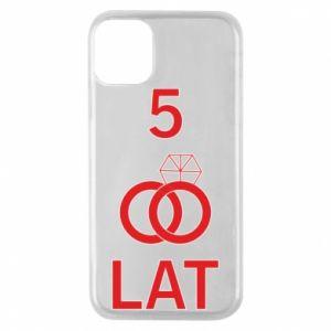 Etui na iPhone 11 Pro Ślub 5 lat