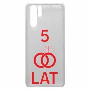 Etui na Huawei P30 Pro Ślub 5 lat