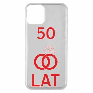 Phone case for iPhone 11 Wedding 50 years - PrintSalon
