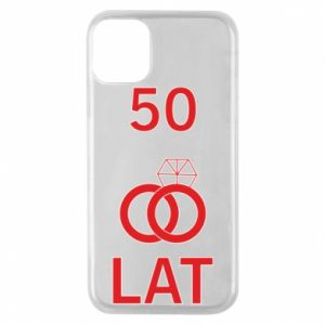Phone case for iPhone 11 Pro Wedding 50 years - PrintSalon