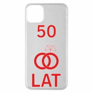 Phone case for iPhone 11 Pro Max Wedding 50 years - PrintSalon