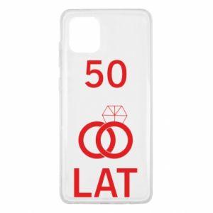 Etui na Samsung Note 10 Lite Ślub 50 lat