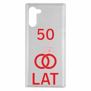 Etui na Samsung Note 10 Ślub 50 lat
