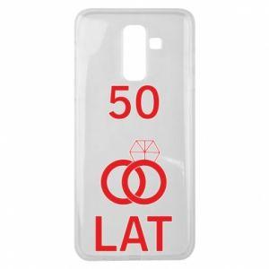 Etui na Samsung J8 2018 Ślub 50 lat