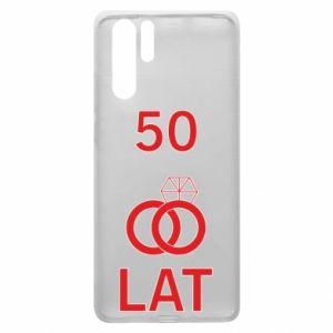 Etui na Huawei P30 Pro Ślub 50 lat