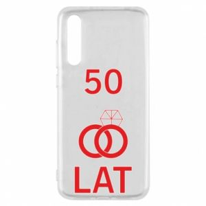 Etui na Huawei P20 Pro Ślub 50 lat