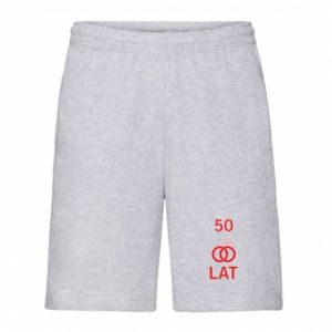 Men's shorts Wedding 50 years - PrintSalon
