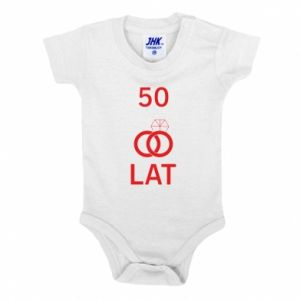 Baby bodysuit Wedding 50 years - PrintSalon