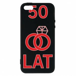 Phone case for iPhone 5/5S/SE Wedding 50 years - PrintSalon