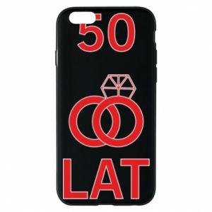 Phone case for iPhone 6/6S Wedding 50 years - PrintSalon