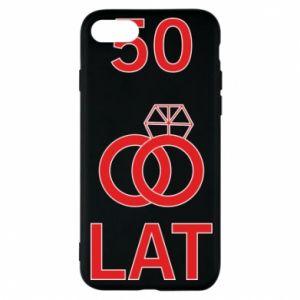Phone case for iPhone 8 Wedding 50 years - PrintSalon