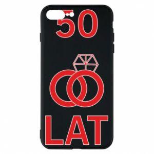 Phone case for iPhone 8 Plus Wedding 50 years - PrintSalon