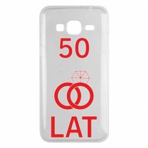 Phone case for Samsung J3 2016 Wedding 50 years - PrintSalon