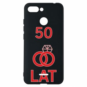Phone case for Xiaomi Redmi 6 Wedding 50 years - PrintSalon
