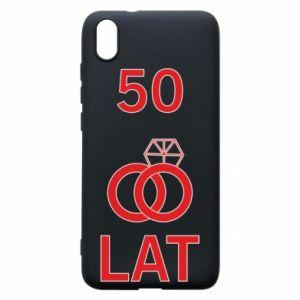 Phone case for Xiaomi Redmi 7A Wedding 50 years - PrintSalon