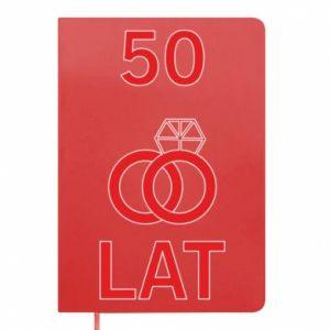 Notepad Wedding 50 years
