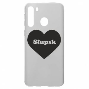 Samsung A21 Case Slupsk in heart