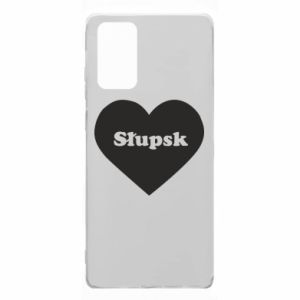 Samsung Note 20 Case Slupsk in heart