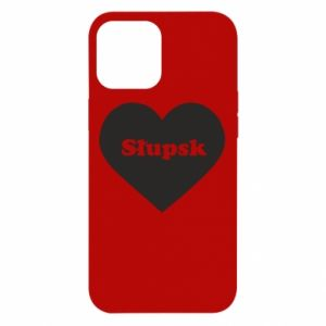 iPhone 12 Pro Max Case Slupsk in heart