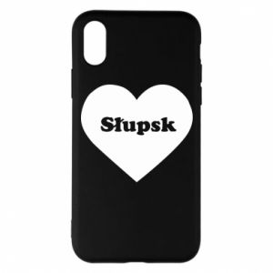 iPhone X/Xs Case Slupsk in heart