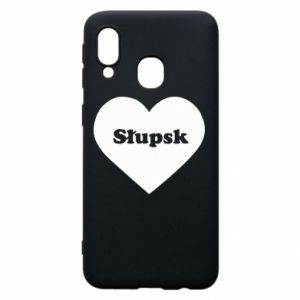 Samsung A40 Case Slupsk in heart