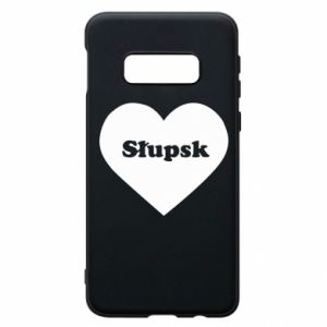Samsung S10e Case Slupsk in heart