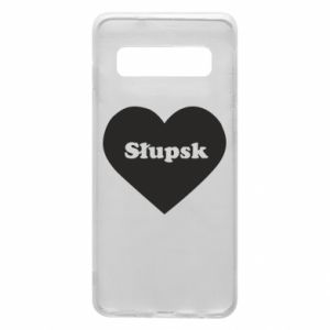 Samsung S10 Case Slupsk in heart