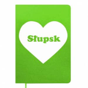 Notepad Slupsk in heart