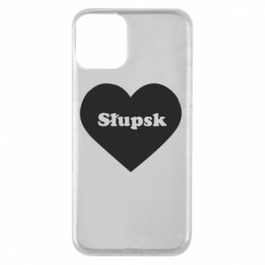 iPhone 11 Case Slupsk in heart