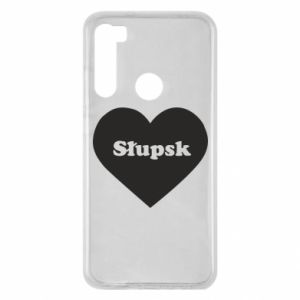 Xiaomi Redmi Note 8 Case Slupsk in heart