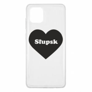 Samsung Note 10 Lite Case Slupsk in heart