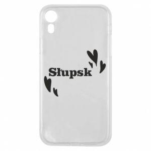 Phone case for iPhone XR I love Slupsk!