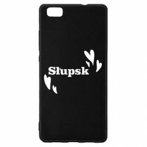 Huawei P8 Lite Case I love Slupsk!