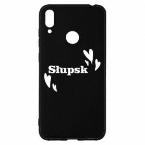 Huawei Y7 2019 Case I love Slupsk!
