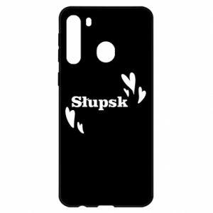 Samsung A21 Case I love Slupsk!
