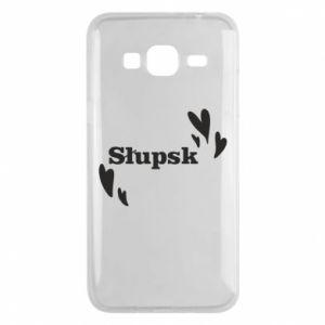 Phone case for Samsung J3 2016 I love Slupsk!