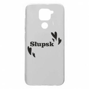 Xiaomi Redmi Note 9 / Redmi 10X case % print% I love Slupsk!
