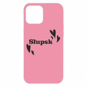 iPhone 12 Pro Max Case I love Slupsk!