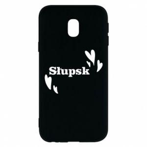 Phone case for Samsung J3 2017 I love Slupsk!