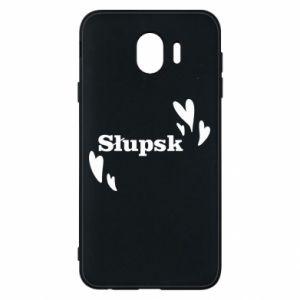 Phone case for Samsung J4 I love Slupsk!